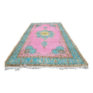 Turkish Overdid Rug - 4′11″ × 8′9″