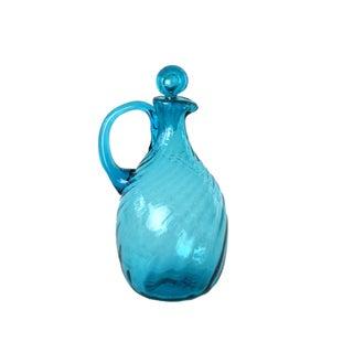 Blue Glass Cruet