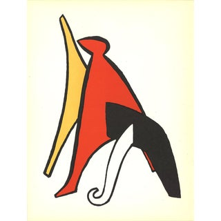 1963 DLM No. 141 Page 10 Lithograph by Alexander Calder