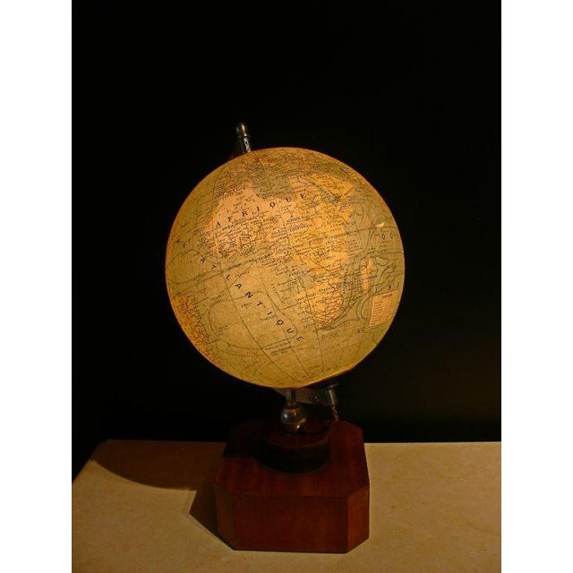 A Illuminated French Terrestial Globe - Image 4 of 8