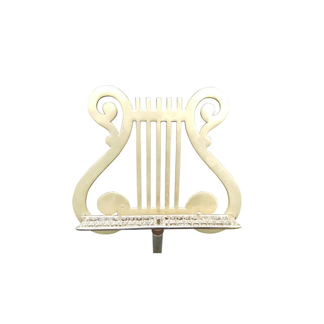 Image of Vintage Brass Music Display Stand