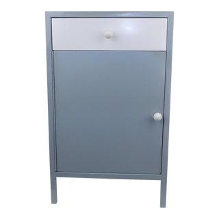 Gray White Shelf Bar Cabinet Wine Barware Storage Coffee Station