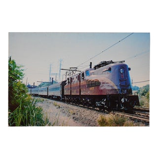 Vintage Railroad Locomotive Photo Postcard