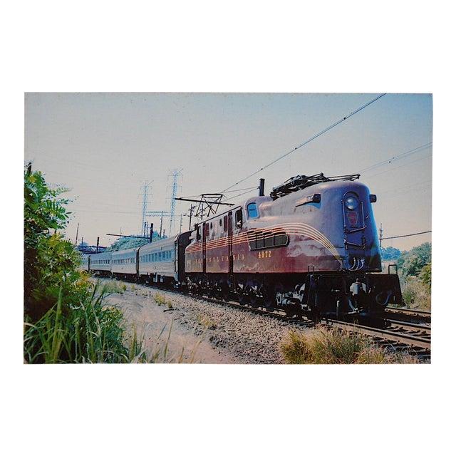 Image of Vintage Railroad Locomotive Photo Postcard