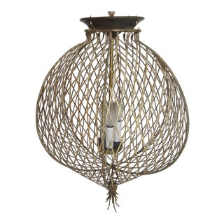 Italian Cage Pendant Light