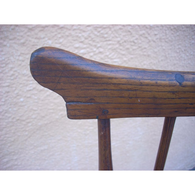 Primitive Windsor Chair - Image 3 of 7