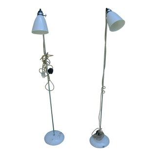 Original Btc Hector Medium Dome Floor Lamps - a Pair
