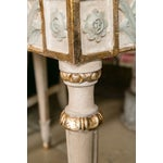 Image of Swedish Paint Decorated Console Tables - A Pair