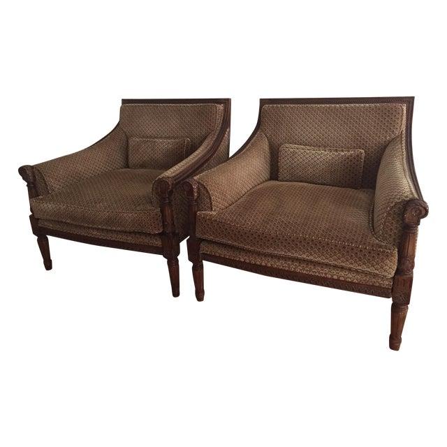 Custom Berbers Lounge Chairs - 2 - Image 1 of 7