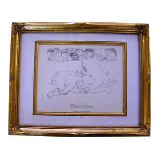 Pablo Picasso Pencil Signed Lithograph
