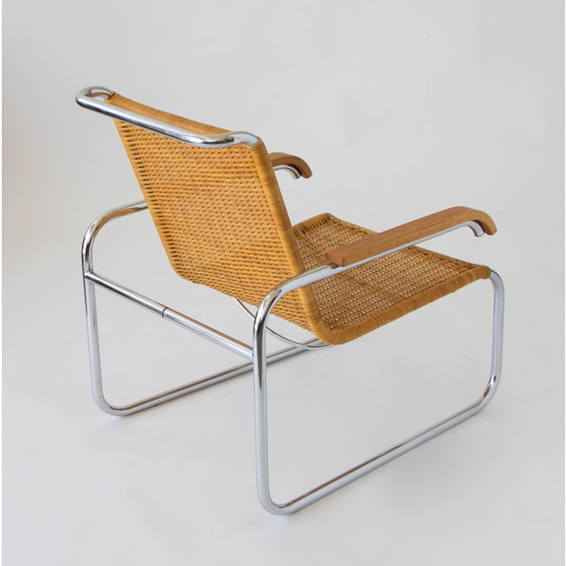 Marcel Breuer for Thonet B35 Rattan Lounge Chair - Image 5 of 7