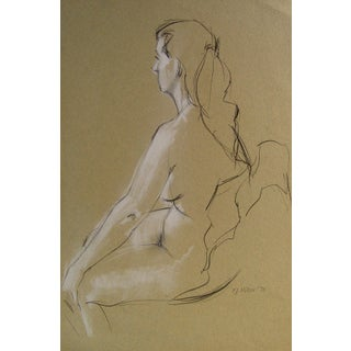 Nude Study by F. J. Miller