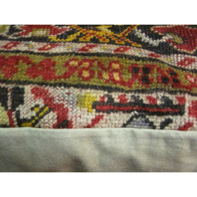 Image of Vintage Turkish Rug Pillow