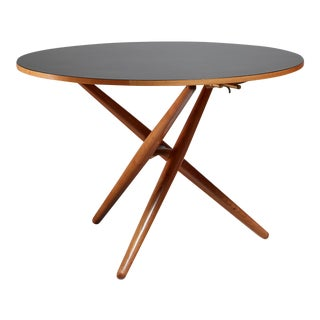 Jurg Bally height-adjustable Ess-Tee table for Wohnhilfe, Switzerland