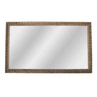 Gold Acanthus Leaf Rectangular Mirror