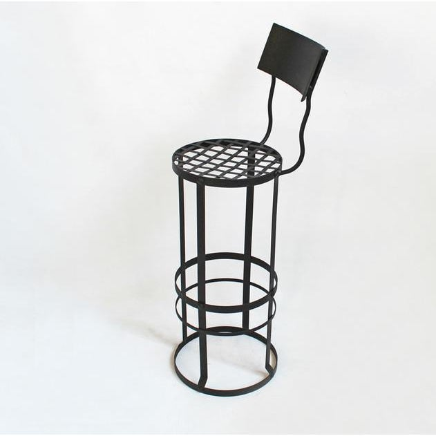 Image of Industrial Woven Bar Stool