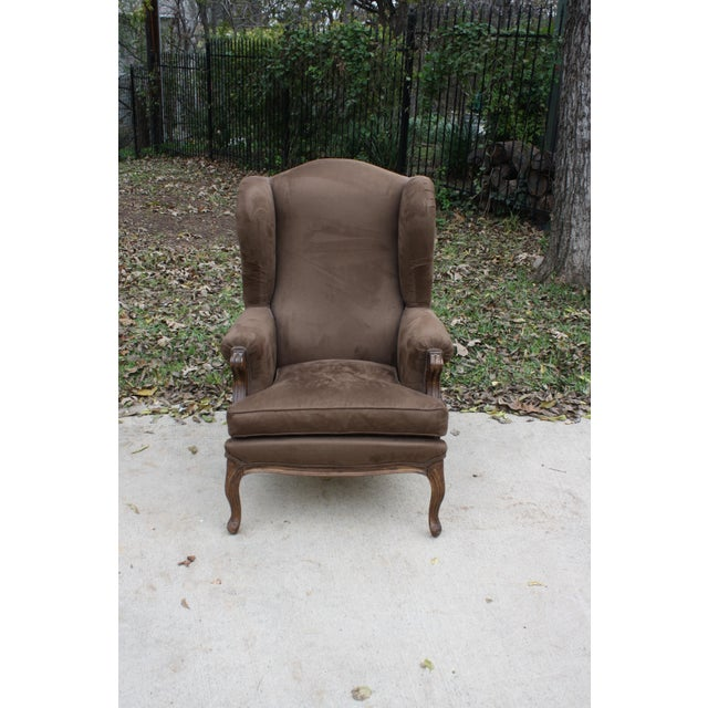French Style Wingback Chair - Image 2 of 5