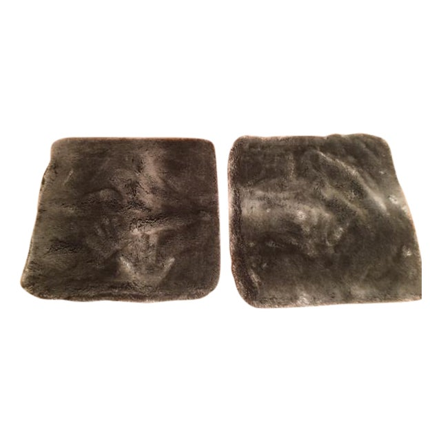 Restoration Hardware Faux Fur Pillow Covers - Pair - Image 1 of 4