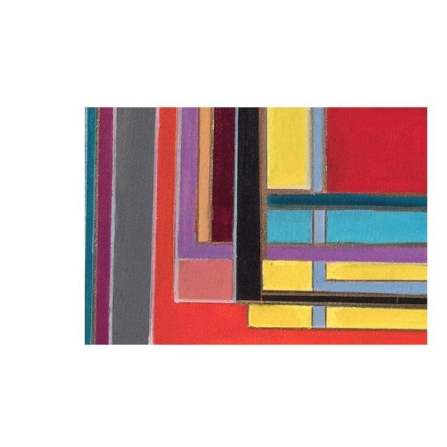 Bryan Boomershine Modern Block Graphic Painting - Image 4 of 5