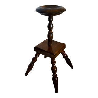 Mid-Century Turned Pedestal