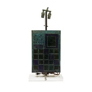 Postmodern Printing Block Table Lamp