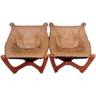 Vintage Luna Chairs by Odd Knutsen - A Pair