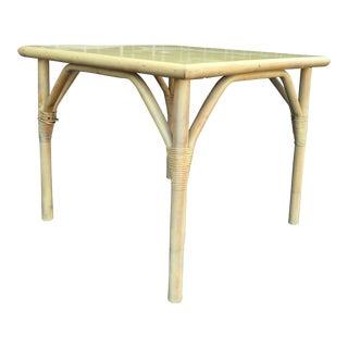 Ficks Reed Square Rattan Table