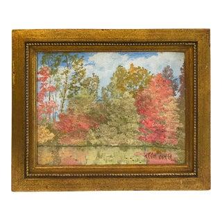 E. A. Renwick Landscape Painting 1928