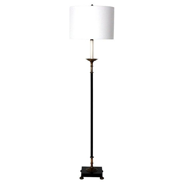 Vintage Art Deco Bronze Floor Lamp Chairish
