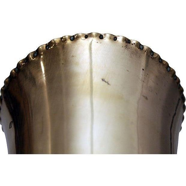 Sculptural Brass Vase - Image 6 of 6