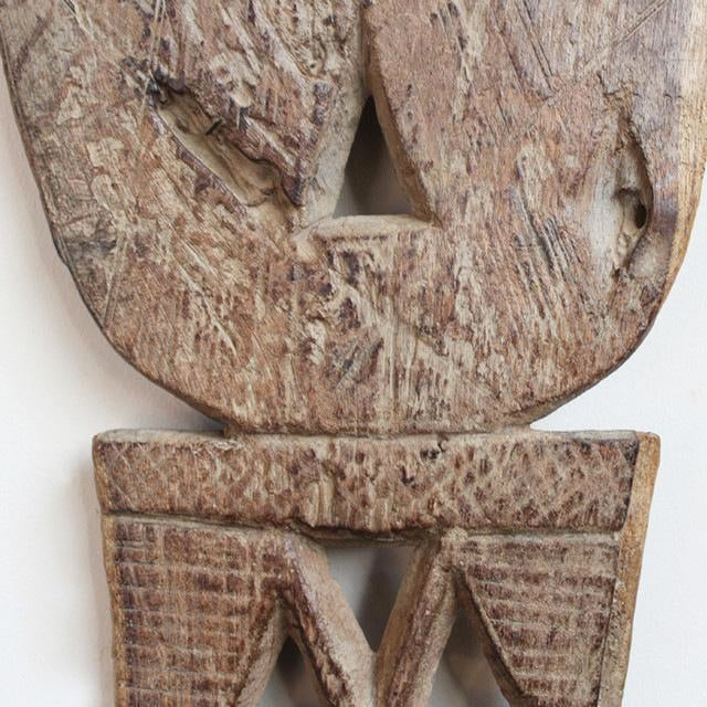 Carved twarik bed post chairish
