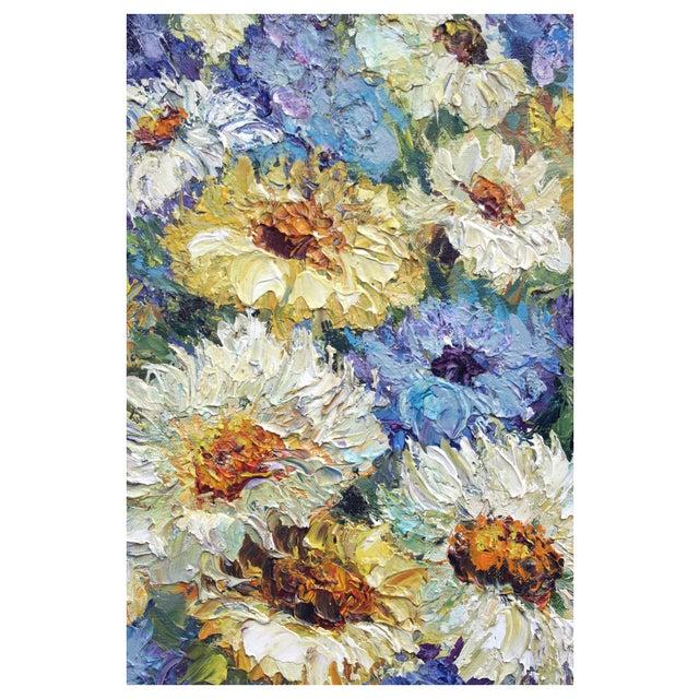 Chrysanthemum Summer Boquet Painting - Image 2 of 3