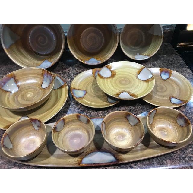 Sango Splash Dinnerware - Set of 13 - Image 3 of 11