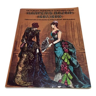 1974 Harper's Bazaar Victorian Fashions & Costumes Book