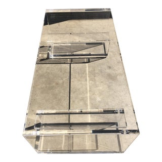 Poly Craft Plexiglass Coffee Table