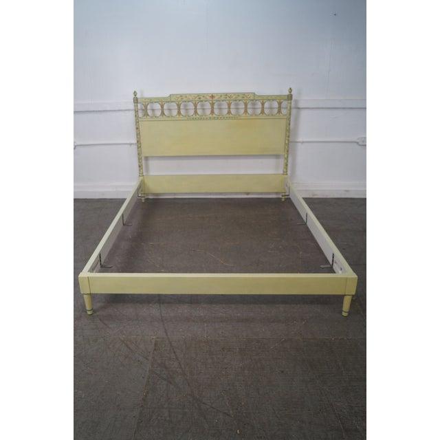 Widdicomb Mid-Century Venetian Style Queen Bed - Image 7 of 10