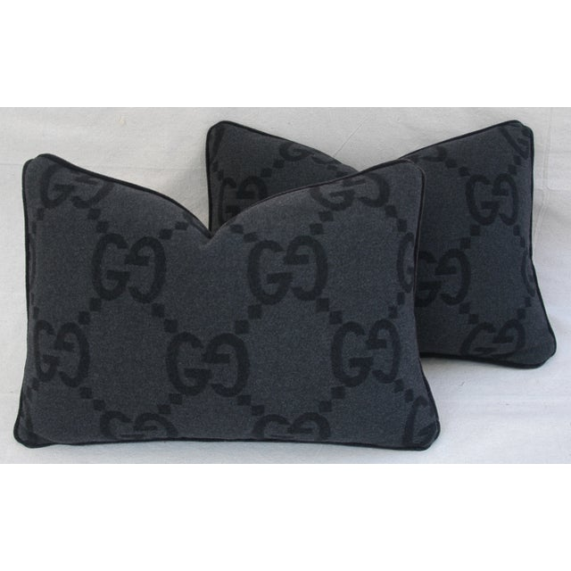 Image of Gucci Cashmere & Mohair Pillows - Pair