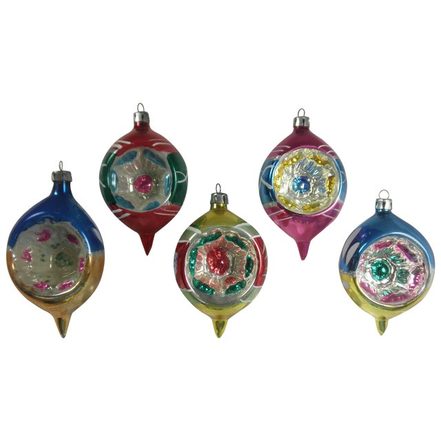 Polish Indent Ornaments - Set of 5 - Image 1 of 3