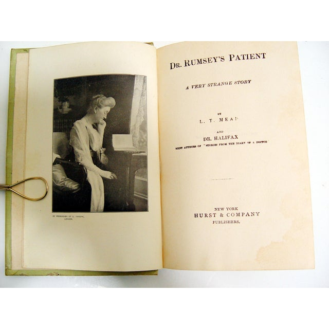 1896 Dr. Rumsey's Patient Book - Image 4 of 5