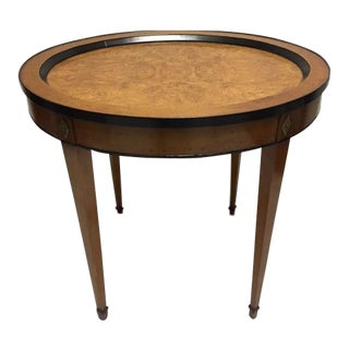 Robert Irwin Biedermeier Oval Tables - A Pair