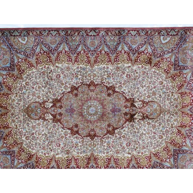 Image of Sino Persian Silk Rug - 4' x 6'