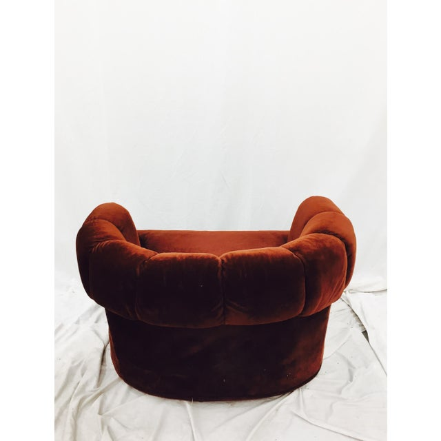 Vintage Mid-Century Modern Chair & Ottoman - A Pair - Image 11 of 11