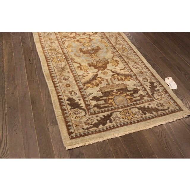 "Persian Sultanabad Rug - 3'2"" x 13'9"" - Image 7 of 10"