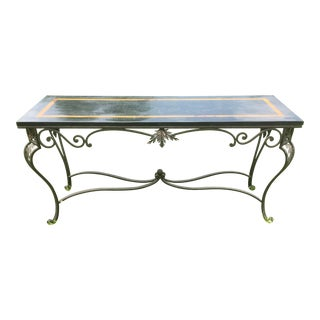 Contemporary Regency Style Hall Table