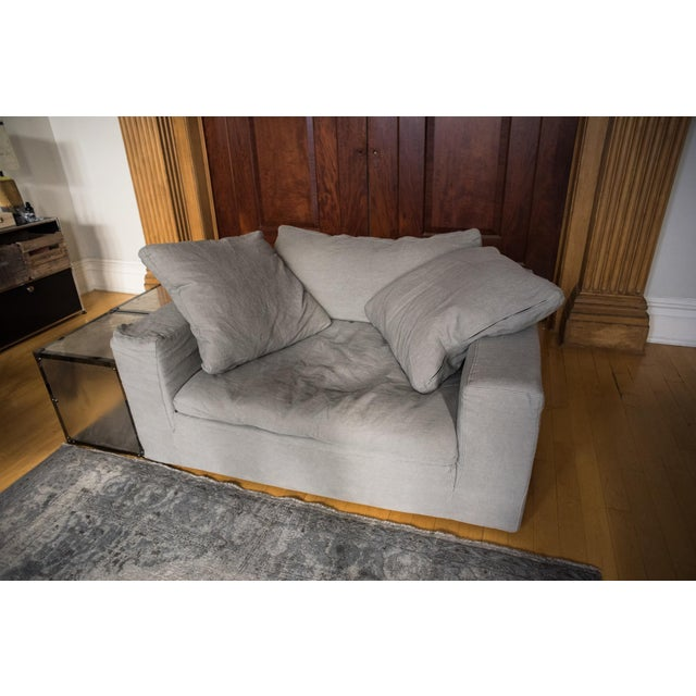 """New Restoration Hardware """"Cloud"""" Chair-And-A-Half - Image 4 of 5"""