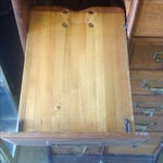 Image of Antique Oak File Cabinet