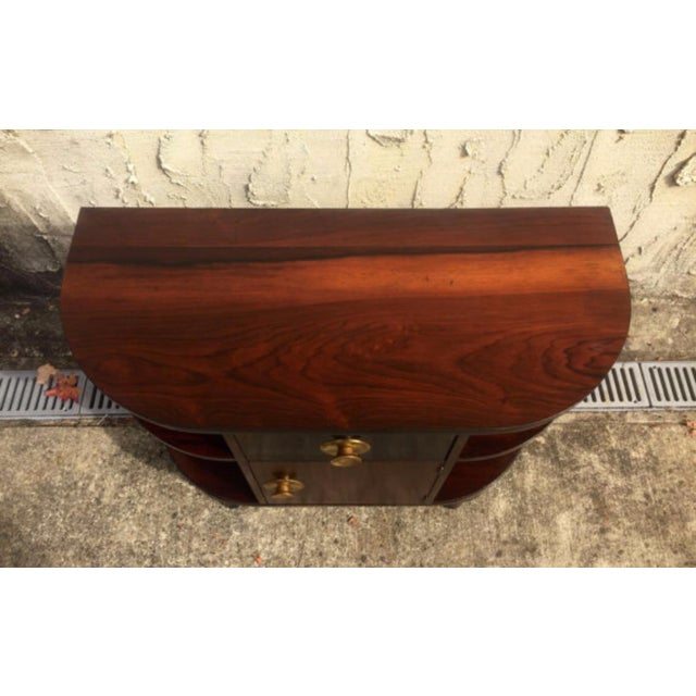 Image of Art Deco Rosewood Stand