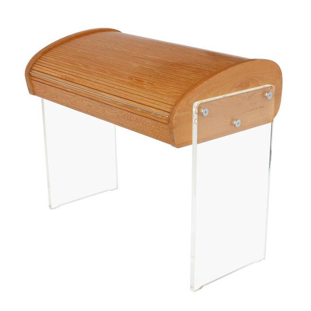 Image of Vladimir Kagan Roll Top Writing Desk