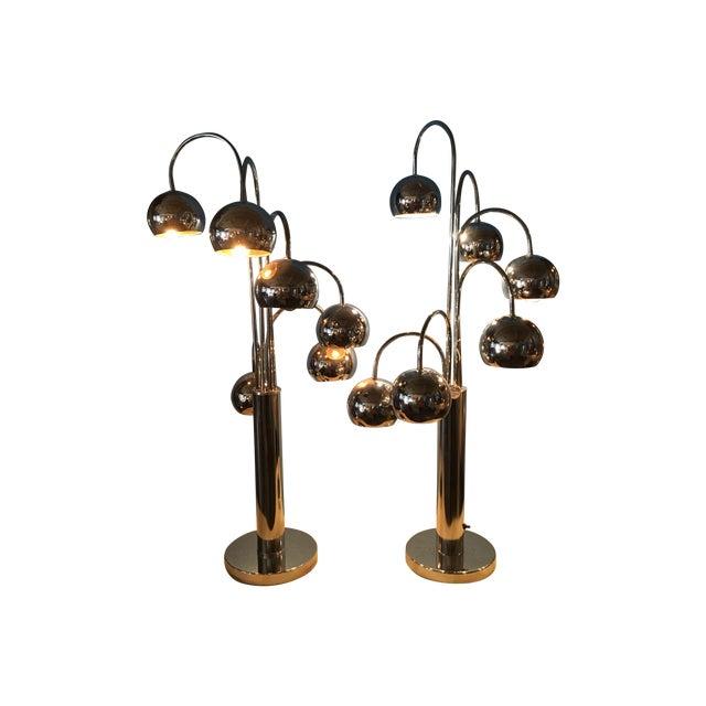Sonneman Vintage 1960's Lamps - A Pair - Image 1 of 5