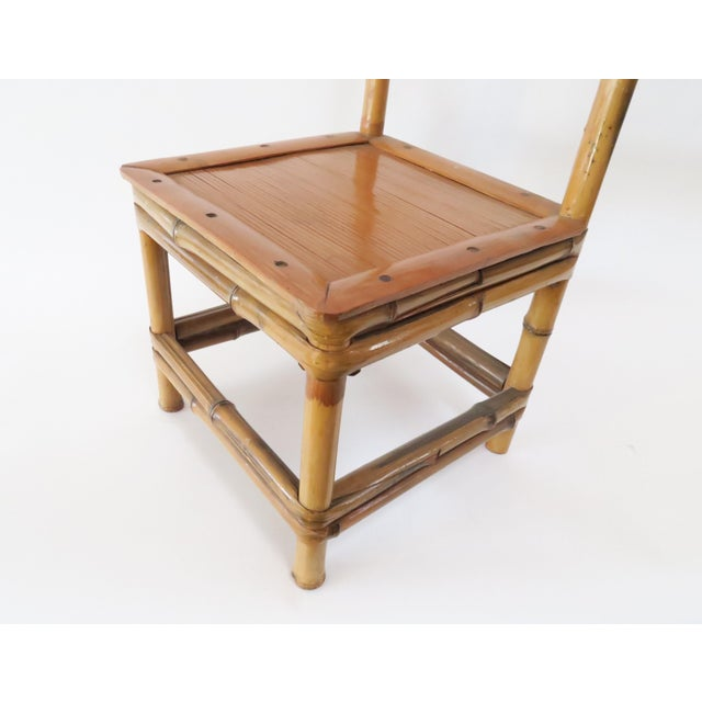 Child's Bamboo Chair - Image 7 of 7